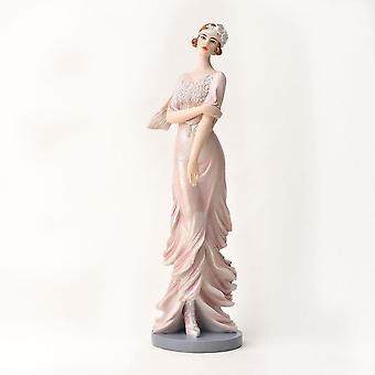Widdop & Co. Broadway Belles Violet Pink Blush Figurine