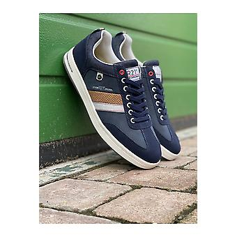 Route 21 Mens Route 21 Navy Memory Foam Casual Trainer
