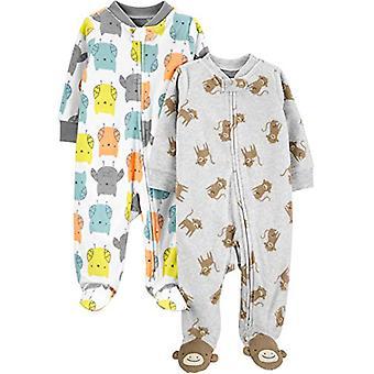 Simples Joys por Carter's Baby 2-Pack Fleece Footed Sleep and Play