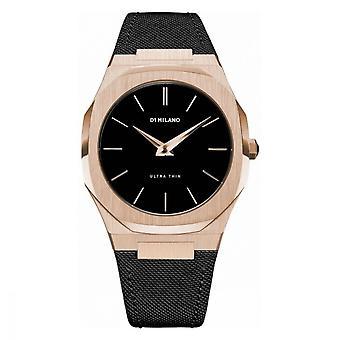 Watch D1 Milano ULTRA THIN Quartz - Pink Dial - 40 mm - UTNJ03