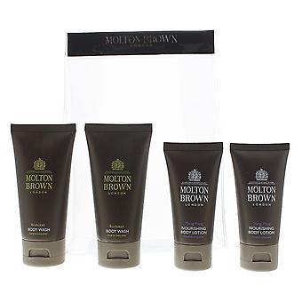 Molton Brown 2 x Body Wash 50ml & 2 x Body Lotion 30ml Gift Set