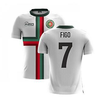 2020-2021 Portugal Airo Concept Away Shirt (Figo 7)