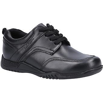 Hush Cachorros Niños Harvey Zapatos escolares de cuero para la tercera edad