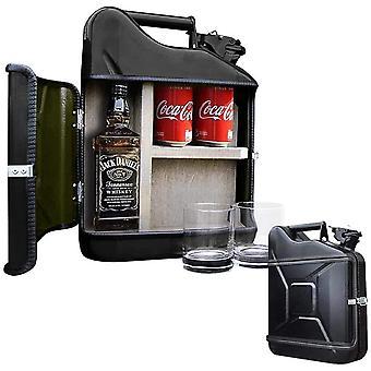 HanFei – Jerrycan Giftset – Whisky Geschenkset – Whiskybar – Jack Daniels