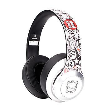 White Gaming Headset Gamer Headset 7.1 Surround HIFI Stereo Headset USB Microphone Breathing LED