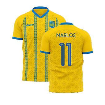 Oekraïne 2020-2021 Home Concept Football Kit (Libero) (MARLOS 11)