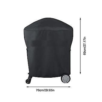 Almacenamiento a prueba de polvo impermeable Barbacoa Parrilla Cubierta Cart Weber Q1000 Q2000 Series Covers (54x76x69cm)