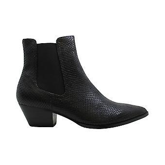 Steve Madden Femmes Cheyene Snakeskin Pointed Toe Ankle Fashion Boots