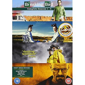 Breaking Bad Season 1-4 Boxset DVD