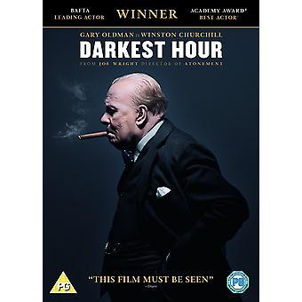 Darkest Hour 2017 DVD