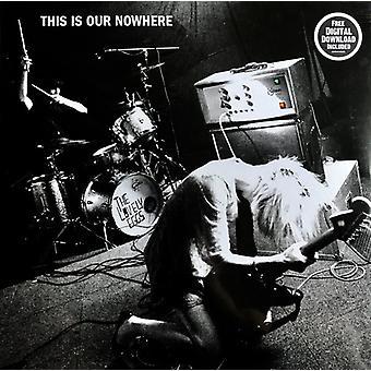 Den dejlige Æg - Dette er vores Nowhere Limited Edition Black &White Swirl Vinyl