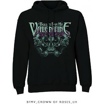 BFMV Crown Of Roses Pullover Hoodie Black: X Large