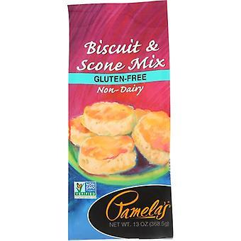 Pamelas Mix Gf Biscuit & Scone, Case of 6 X 13 Oz