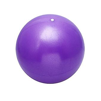 25cm Yoga Ball Physical Fitness Exercise Balance Ball For Women And Men (purple)