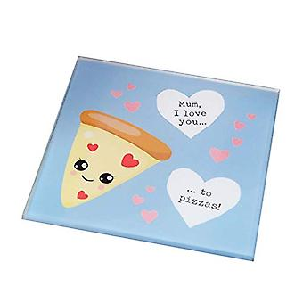 For Your Eyes Only Coaster - Love You To Pizzas