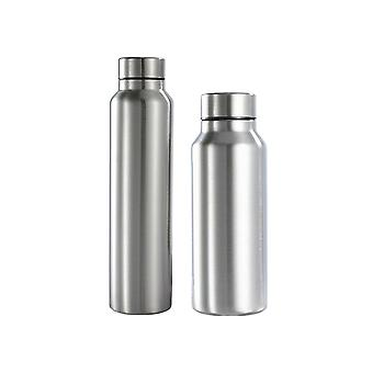 2021 650/1000ml Stainless Steel Sports Water Bottle Thermos Mug Leak_proof Thermosmug Single Wall Vacuum Camping Gym Metal Flask