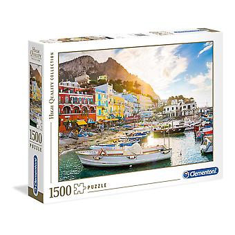 Clementoni Capri Puzzle di alta qualità (1500 pezzi)