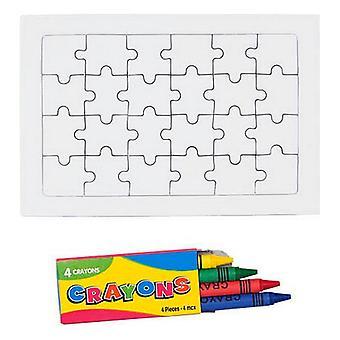 Väritys Puzzle (24 kpl) 143301
