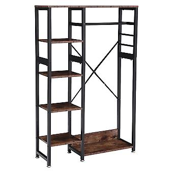 5 Shelves Retro Coat Rack