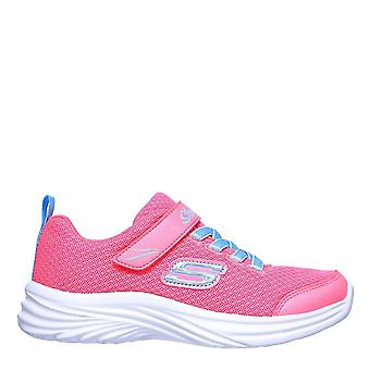 Skechers Kids Drea Dan MM Trainers Shoes Lace Up Touch Close Casual Sneakers