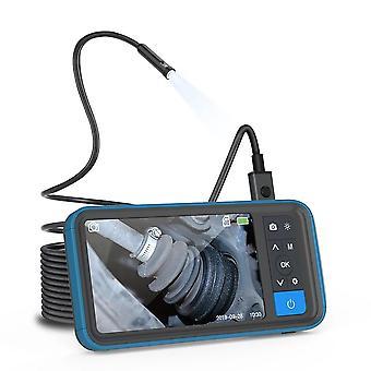 4.5Inch hd farebná obrazovka digitálny endoskop 8mm duálny objektív ip67 vodotesný fotoaparát jas nastaviteľný videorekordér