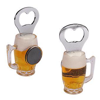 Beer Glass Shaped Bottle Opener - Cracker Filler Gift