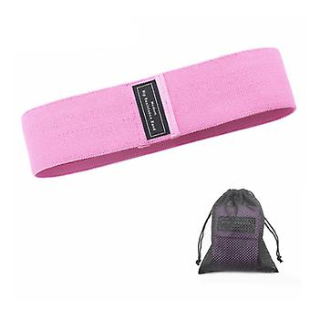 Pink 90LBS Fashion Resistance Bands for Legs Thigh Glute Butt Squat Bands Non-slip Hip Circle