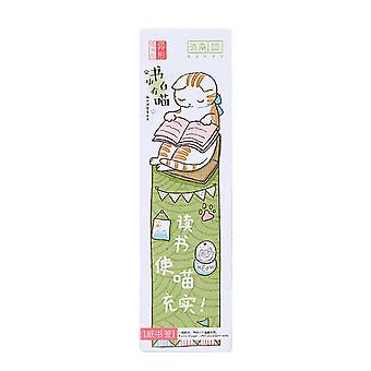 30Pcs/Pack Lovely Cat Paper Bookmark Cartoon Style Animals Bookmark Cute Stationery Gift For