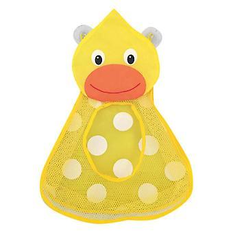 (Duck) Kid Baby Bath Toy Storage Bag Organiser Duck Frog Toy Tidy Holder Bathroom Decor