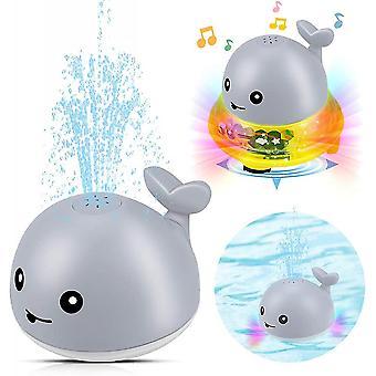 الحوت تضيء حمام اللعب مع بخ التلقائي وضوء LED