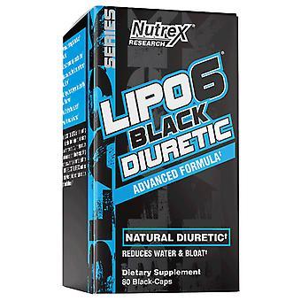 Lipo-6 Black Diuretic - 80 caps