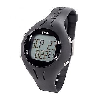 Swimovate Poolmate Plus Swimming Water Sports Lap Counter Tracker Watch Black