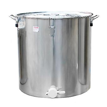 Stainless Steel Bee Honey Bucket 200l Can Add Honey Gate