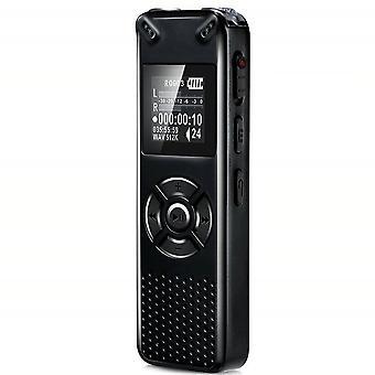מקליט קול דיגיטלי חכם מקצועי נייד מוסתר HD אודיו אודיו הקלטת טלפון