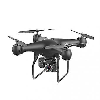 2.4g Professional Drone Gps 4k Remote Control Aircraft Selfie Quadcopter (black)