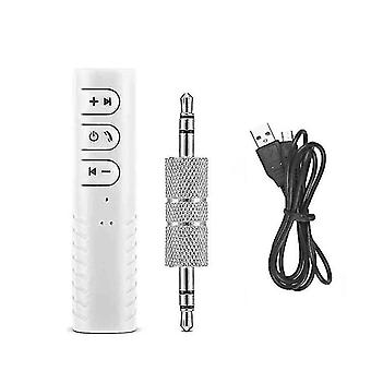 Bluetooth transmitters 3.5Mm jack wireless bluetooth receiver adapter white