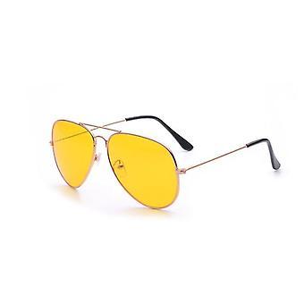 Classic Night Vision Yellow Lens Sunglasses Women