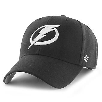 47 Brand Adjustable Cap - NHL Tampa Bay Lightning schwarz