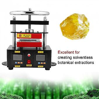 Electric Rosin Press Machine Stamper Manual Operation Double Plates Heating