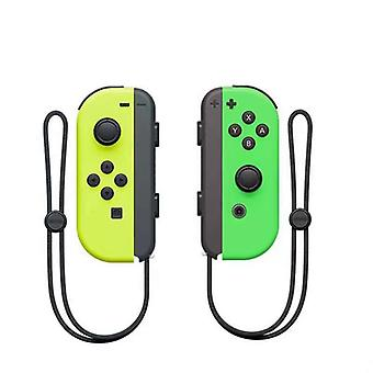 Portable Wireless Bluetooth Joy-con L/r Controller Compatible With Nintendo Switch-yellow Green