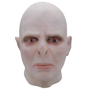 Harry Potter Lord Voldemort Cosplay Mask Face Cover Hovedbeklædning