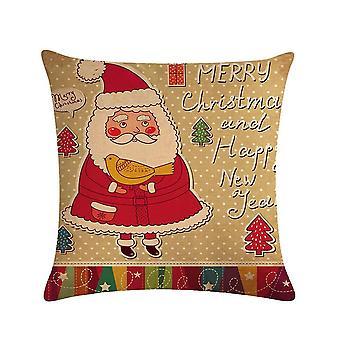 1kpl joulu ja uudenvuoden kuvio tyynyliina