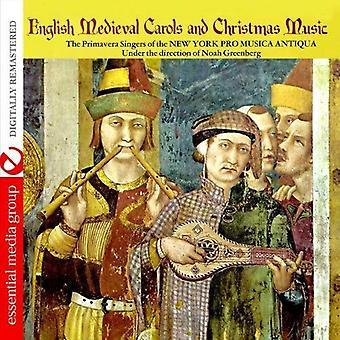 Primavera laulajat New Yorkissa Pro musiikki antiikkihuonekaluilla - Englanti keskiaikainen joululauluja & joulumusiikkia [CD] Yhdysvallat tuoda
