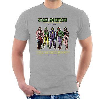 Snake Mountain Training Centre Eternia Skeletor Men's T-Shirt