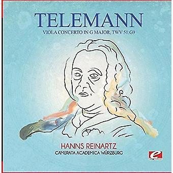 Telemann - Bratsch Concerto in G Major Twv 51:G9 [CD] USA import