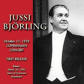 Jussi Bjorline (Tenor) - In Copenhagen 1959 [CD] USA import