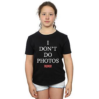 Justin Bieber Girls I Don't Do Photos T-Shirt