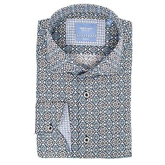 Tresanti Medaillon Print Mens Shirts