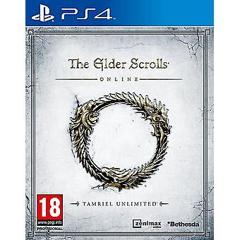 The Elder Scrolls Online Tamriel Unlimited PS4 spel