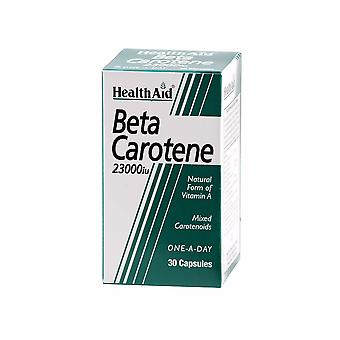 Health Aid Beta-Carotene (Natural) 15mg ,  30 Capsules